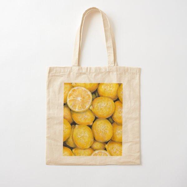 When Life Gives You Lemons Cotton Tote Bag