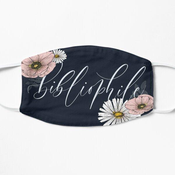 Bibliophile Floral Design Flat Mask