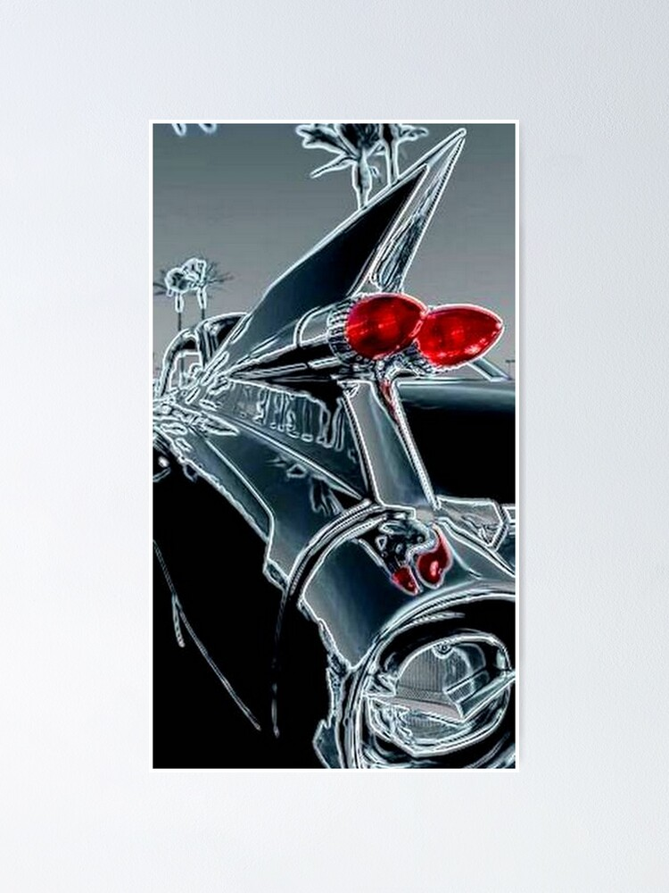 Alternate view of CLASSIC CADILLAC CAR Poster