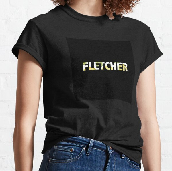 Finding Fletcher - Bitter inspired art (black background) Classic T-Shirt