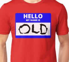 ZOOLANDER 2 HELLO MY NAME IS OLD DEREK HALLOWEEN Unisex T-Shirt