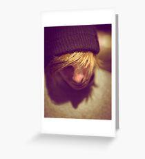 Street Kid Greeting Card