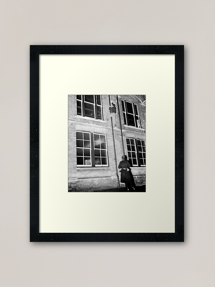 """Alternate view of """"Come down, blast you sir, come down."""" Framed Art Print"""