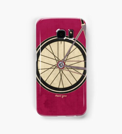 Single Speed Bicycle Samsung Galaxy Case/Skin