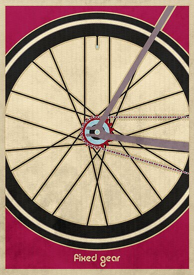 Single Speed Bicycle by Andy Scullion