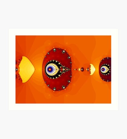 God's Eye II Art Print