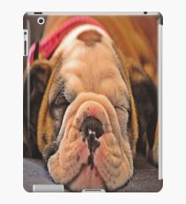 Sleeping puppy iPad Case/Skin
