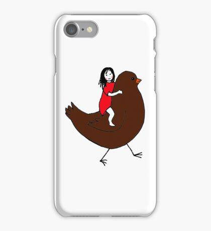 Bird Girl iPhone Case/Skin