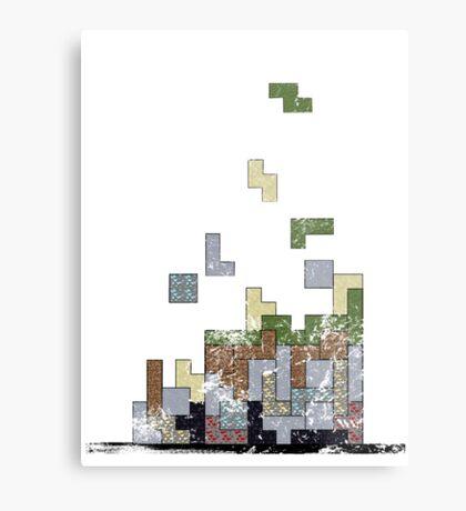 MineTetris Metal Print