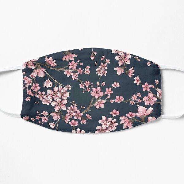 Cherry  Blossom Flowers Flat Mask