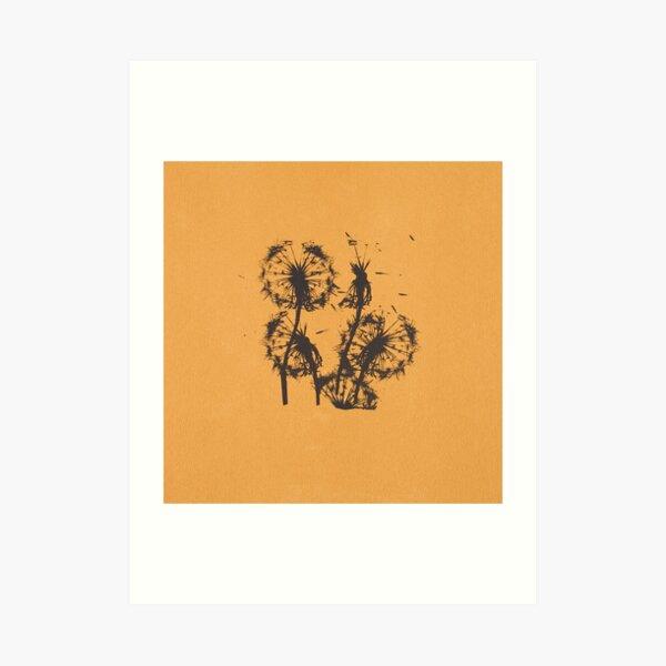 Unnoticed | Dandelions  Art Print