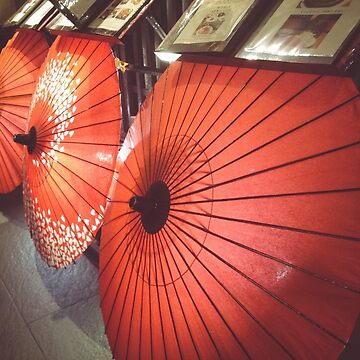 Japanese Umbrellas by sandyeates