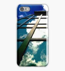 Blue Sky Reflection - artistic iphone case iPhone Case/Skin