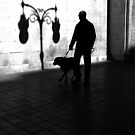 Walking into a light shadow.. by Berns
