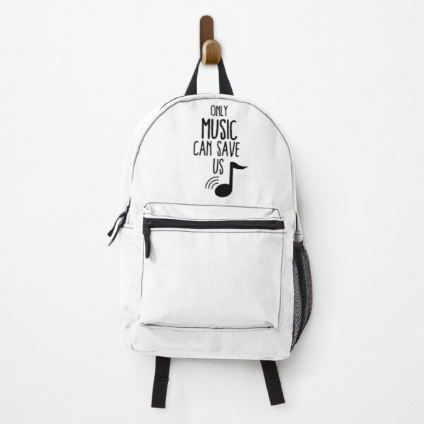 only music can save us Backpack