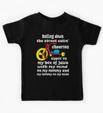 Defending Awesome - Rolling Down The Street Baby Kids Tee