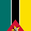 Mozambique Flag by pjwuebker