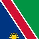 Namibia Flag by pjwuebker