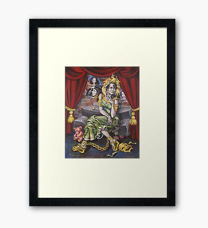 Fame Framed Print