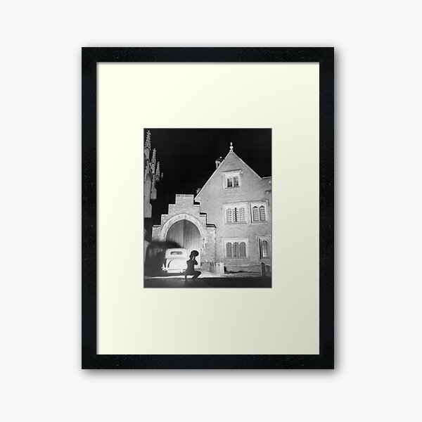 Above the Ivy Arch. Framed Art Print
