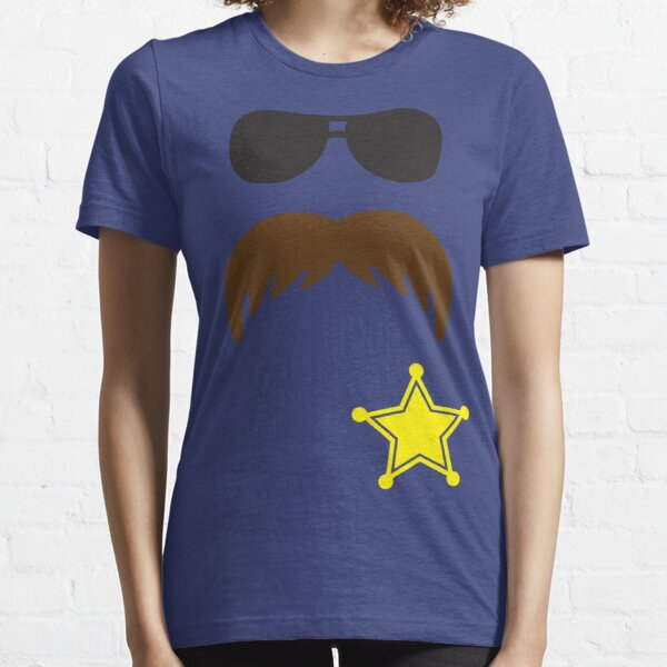Defending Awesome - Moustache Series - Cop Stash Essential T-Shirt