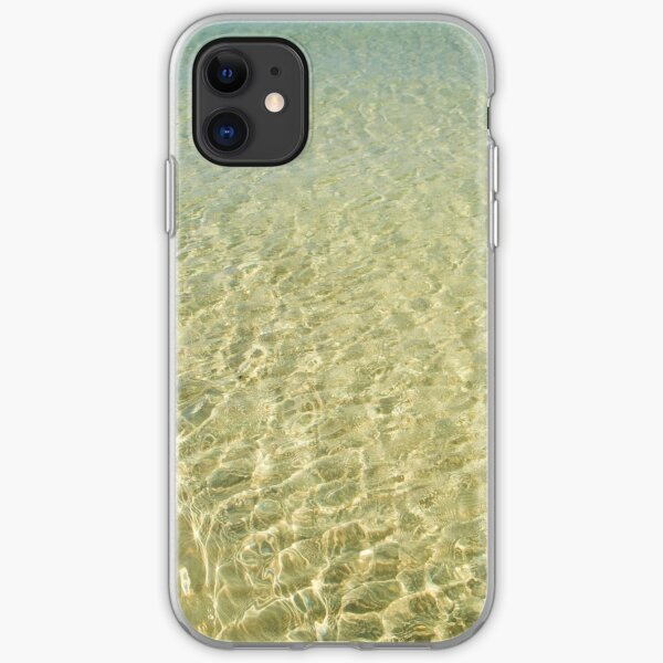 Coles Bay Water iPhone Soft Case