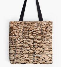 wall of gabions Tote Bag