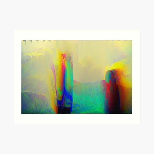 Fragmentized Art Print