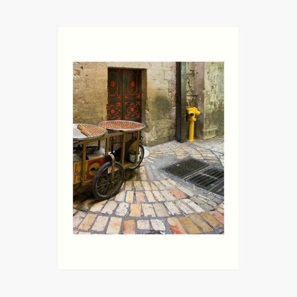 Old city of Jerusalem I Art Print