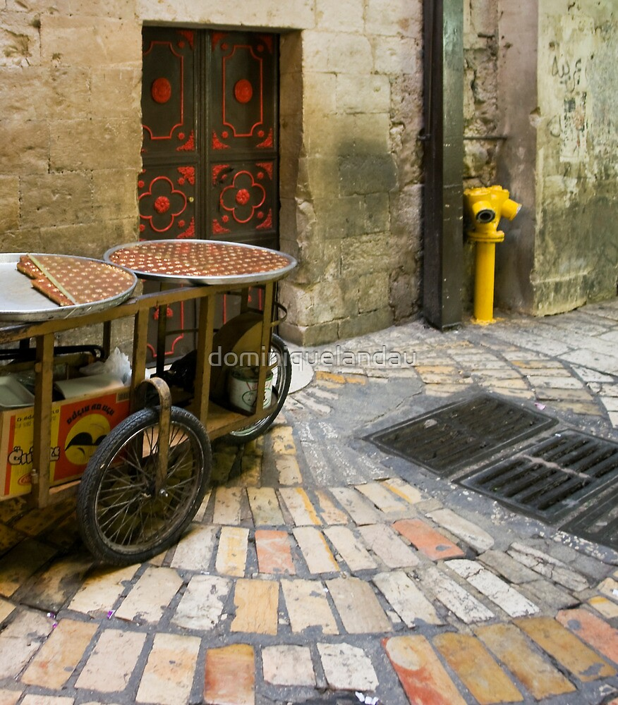 Old city of Jerusalem I by dominiquelandau