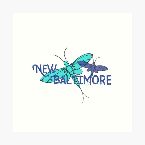 New Baltimore, MI; Fishflies Art Print