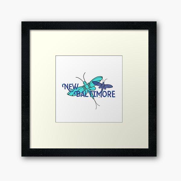New Baltimore, MI; Fishflies Framed Art Print