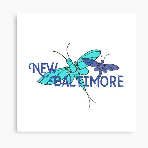 New Baltimore, MI; Fishflies Canvas Print