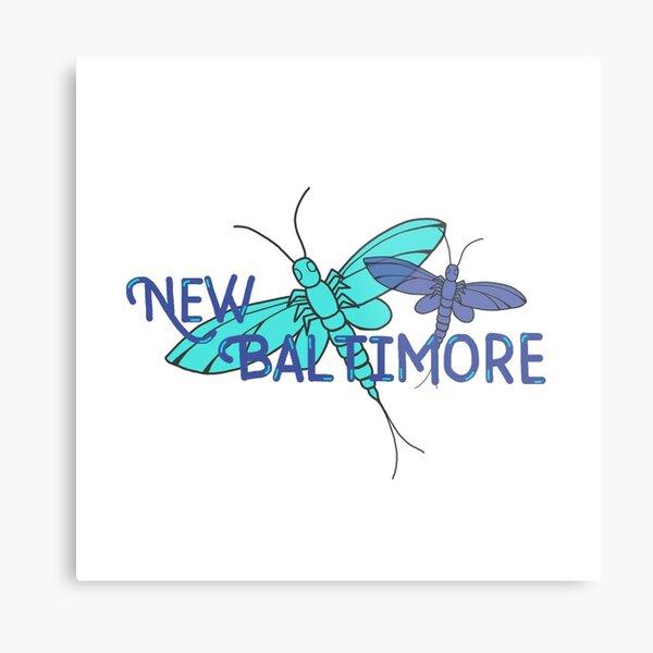 New Baltimore, MI; Fishflies Metal Print