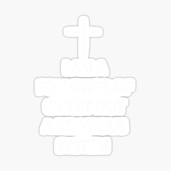 follower of Christ Sticker