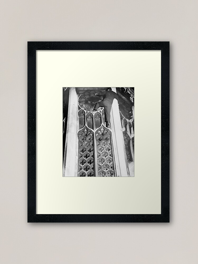 Alternate view of Porters' Lodge. The Clock Face Framed Art Print