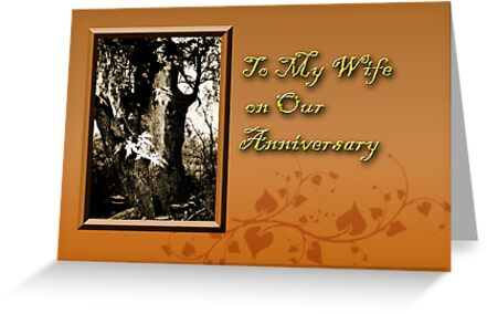 To My Wife On Our Anniversary Willow Tree by jkartlife