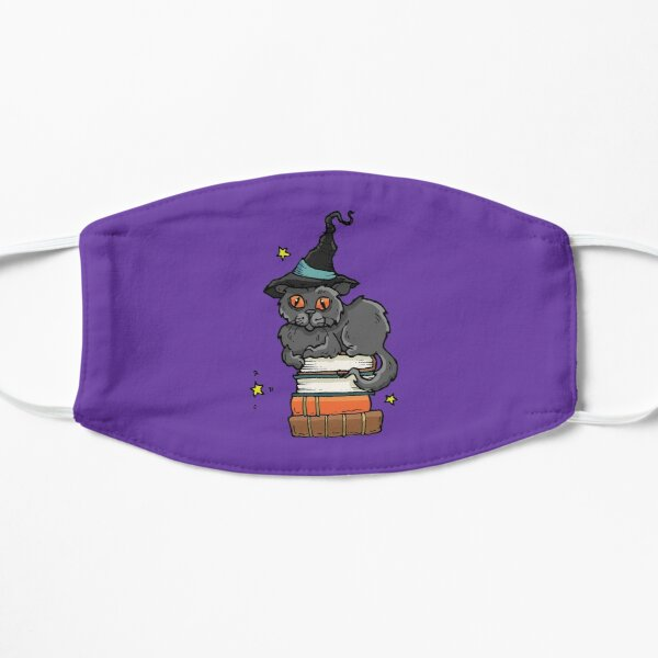 Magical Spells & Potions Artwork in Purple, Stickers & Stationery Mask
