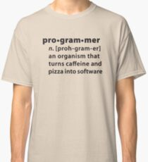 Programmer dictionary definition Classic T-Shirt