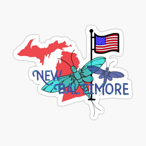 New Baltimore, MI Sticker