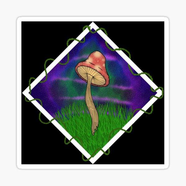 bby shroom Sticker