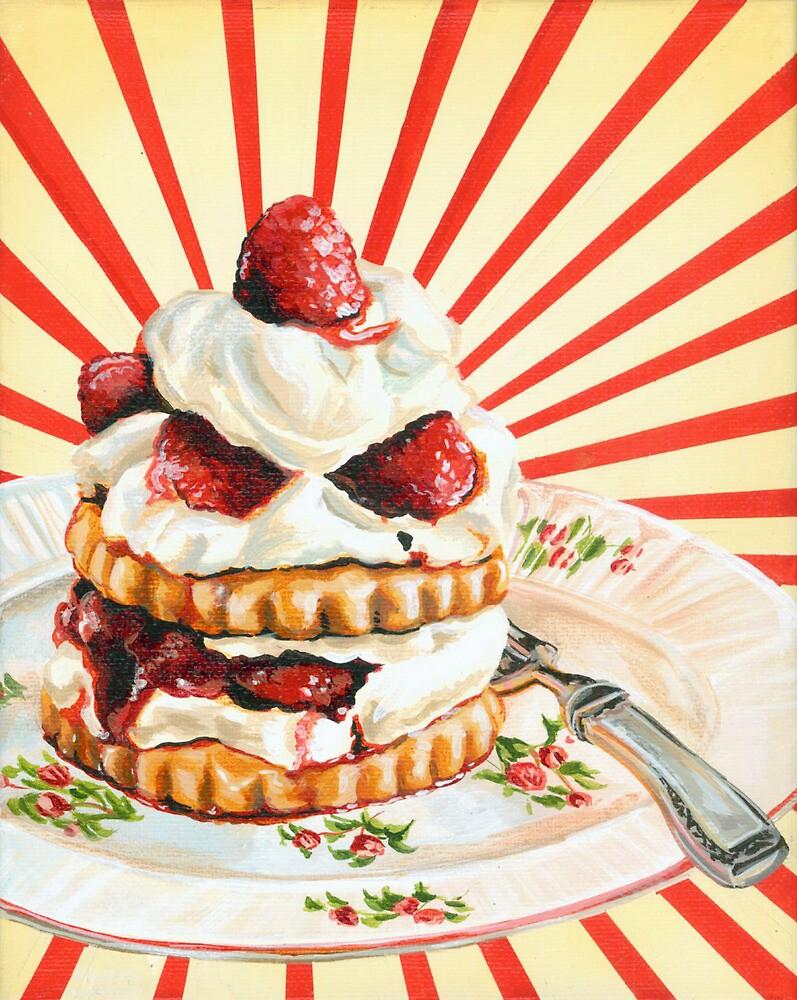 Raspberry Shortcake by Kelly  Gilleran