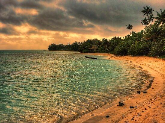 Coconut bay sunset by Chris Brunton