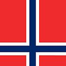 Norway Flag by pjwuebker