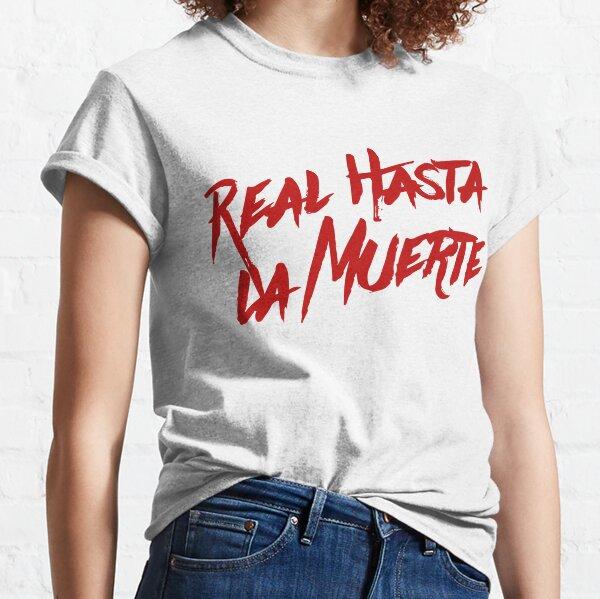 Camiseta Anuel AA Real Hasta La Muerte Camiseta clásica