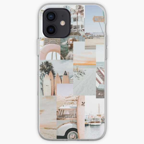 Beach Collage Phone Case iPhone Soft Case
