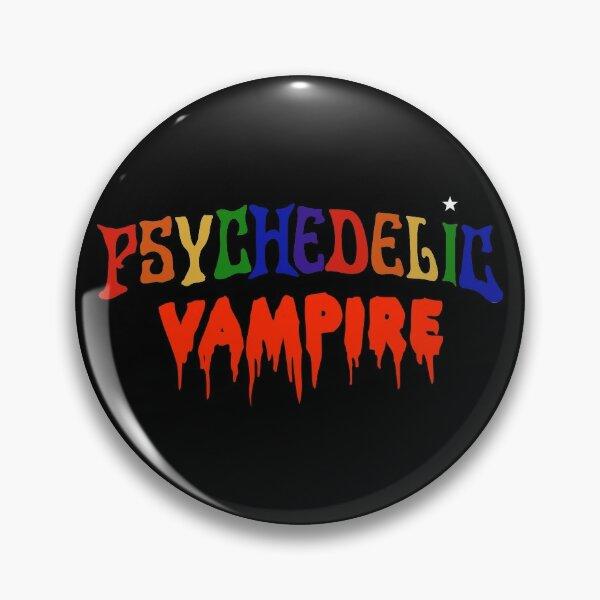 Psychedelic Vampire Pin