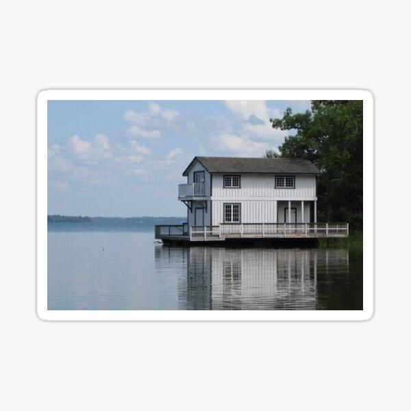 The Boathouse Sticker