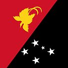 Papua New Guinea Flag by pjwuebker