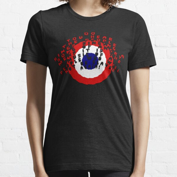 Do you hear the people sing? /bigger artwork/red text/ Essential T-Shirt